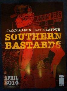 SOUTHERN BASTARDS Promo Poster, 18 x 24, 2014, IMAGE Unused more in our store 52