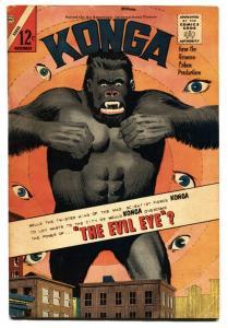 KONGA #15-THE EVIL EYE-CHARLTON COMICS 1963 VG+