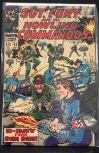 Sgt. Fury #59 (1968)