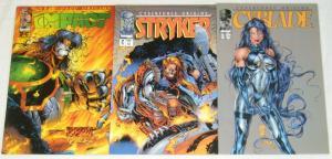 CyberForce Origins #1-3 VF/NM complete series - michael turner - cyblade set lot