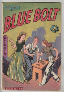 Blue Bolt #1 (Jan-45) VG/FN Mid-Grade Dick Cole, Blue Bolt The American