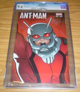Ant-Man #1 CGC 9.6 ed mcguinness shrinking variant - numbered #09812 marvel 2015