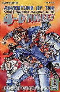 4-D Monkey, The #2 VF; Leung's | save on shipping - details inside