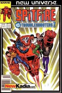 Spitfire and the Troubleshooters #1, NM- (Stock photo)