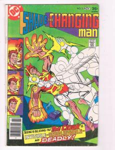 Shade The Changing Man #3 VG DC Comic Book The Cloak DE5