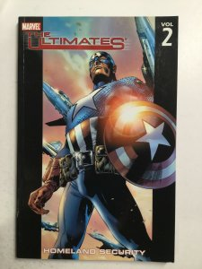 The Ultimates Homeland Security Volume 2 Tpb Softcover Very Fine Vf 8.0 Marvel