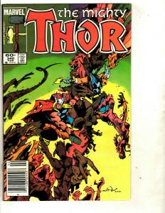 10 Thor Marvel Comics # 340 341 342 343 345 346 347 348 349 350 Spider-Man DS3