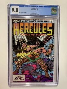 Hercules 1 Cgc 9.8 Marvel Copper Age White Pages