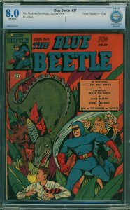 Blue Beetle #37 (Fox Features Syndicate, 1945) CBCS 8.0