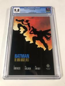 Batman The Dark Knight Returns 4 Cgc 9.8 White Pages 1st Print  2030336023