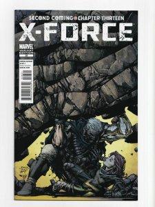 X-FORCE #28 1:25 FINCH VARIANT  2010 NEAR MINT.