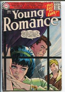 Young Romance #145 1967-DC-Love triangle cover-VG