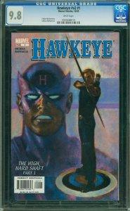 HAWKEYE V2 #1 CGC 9.8 **-**Highest Graded**-** AVENGERS **-** MARVEL Dec 2003