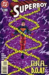 Superboy (1994 series) #35, NM + (Stock photo)