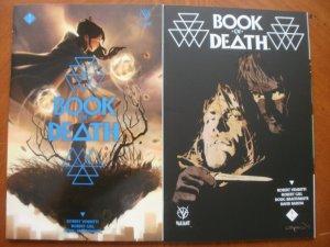 2 Mint Valiant BOOK OF DEATH #1 #2 (2015) Venditti Gill Braithwaite Baron