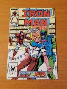 Iron Man #202 ~ NEAR MINT NM ~ 1986 MARVEL COMICS