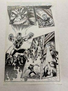 Slingers 8 Page 15 Original Art Greg Luzinak Bob Almond Spider-man