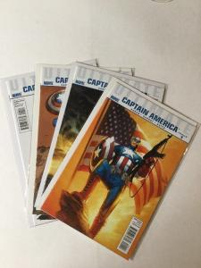 Ultimate Captain America 1 2 3 4 1-4 Complete Miniseries Nm Near Mint