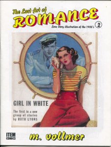 Lost Art of Romance #2 1999-reprints art from romance pulps-limited print run-NM