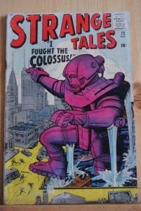 Strange Tales #72, Jack Kirby, Stan Lee