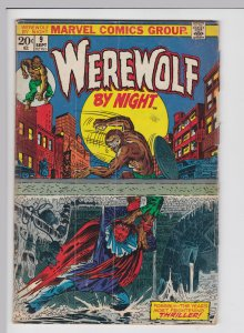 Werewolf by Night #9 (Sep 1973) 2.0 GD Marvel Horror - Mark Jewelers