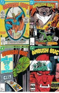 AMBUSH BUG (1985 DC) 1-4 Giffen bugs out!!  COMPLETE!