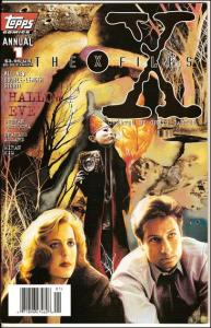 Topps X-FILES (1995 Series) Annual #1 VF