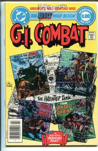 G.I. COMBAT #250 1983-DC-HAUNTED TANK-GLANZMAN-GIANT EDITION-KUBERT-nm