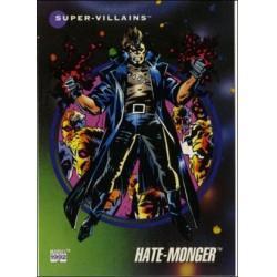 1992 Marvel Universe Series 3 HATE MONGER #137