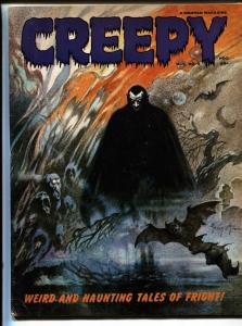 Creepy #5 1965-Frank Frazetta cover-Warren Horror Magazine VG