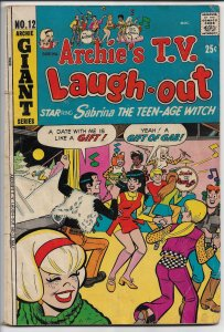 Archie T.V. Laugh-Out #12 - Bronze Age - May, 1972 (VG)