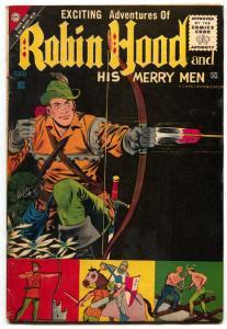 Robin Hood and His Merry Men #31 1957- Charlton Comics- FN