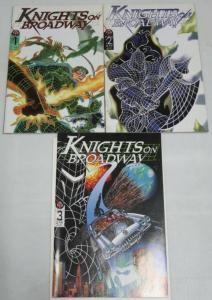 KNIGHTS ON BROADWAY (1996 BROADWAY) 1-3 short/sweet