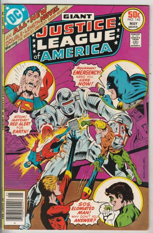 Justice League of America #142 (May-77) NM- High-Grade Justice League of America
