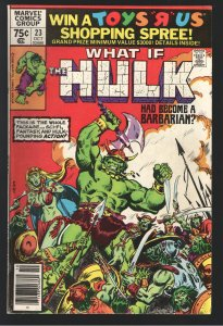 WHAT IF 23(1980) VF+;1st DETAILED ORIGIN ETERNALS!(AND OTHERS)