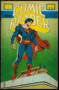 The Comic Reader Fanzine #146 1977- Superman cover G