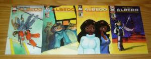 Steve Gallacci's Albedo Anthropomorphics vol. 3 #1-4 VF/NM complete series set 2