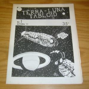 Terra-Luna Tabloid #1 FN/VF paul karol - underground in kennedy's guide 1977