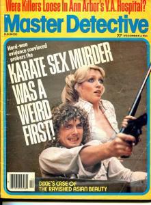 Master Detective 2/1977-TD Pub-spicy gun moll-Karate sex murder-VG