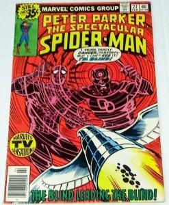 Spectacular Spider-Man #27 (7.0) 1976 Daredevil Frank Miller Bronze Age ID#43A
