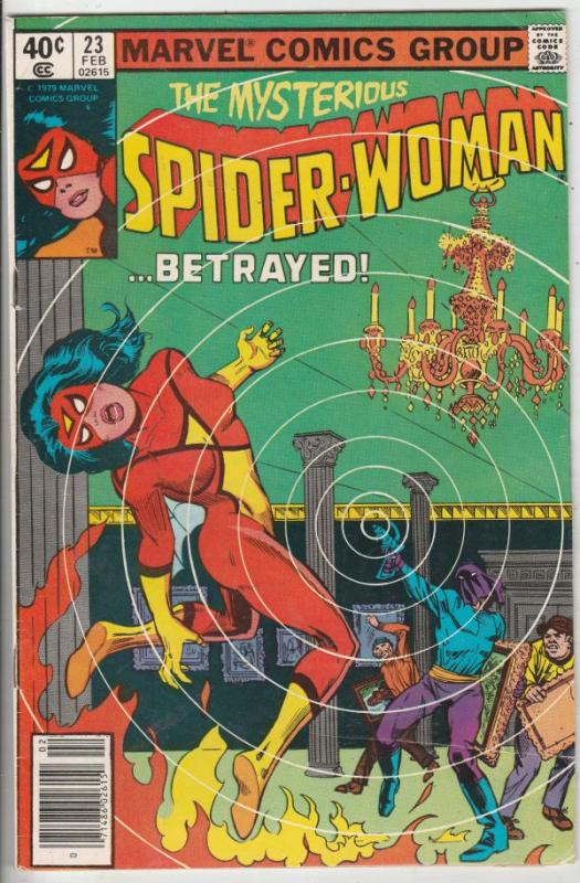 Spider-Woman,The #23 (Feb-80) VF High-Grade Spider-Woman