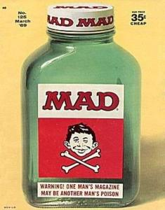 Mad (1952 series) #125, Fine+ (Stock photo)
