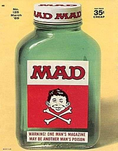 Mad (1952 series) #125, Good+ (Stock photo)
