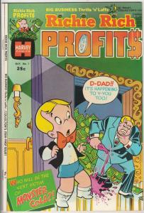 Richie Rich Profits #1 (Oct-74) NM+ High-Grade Richie Rich