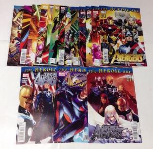 Avengers 1-11 Heroic Age Secret Avengers Heroic Age 1-3 VF/NM Lot Set Run