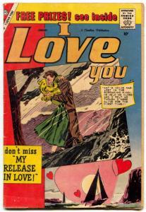I Love You Comic #26 1960- Charlton Romance- lingerie panel VG