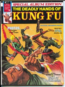 Kung Fu Special #1 1974-Marvel-Deadly Hands of Kung Fu, Special Album Edition...