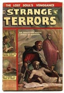 STRANGE TERRORS #5 KUBERT PRE CODE HORROR-GHOST-DEMON-1952-PCH