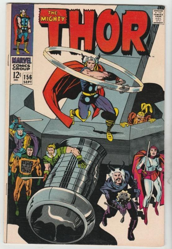 Thor #156 The Mighty strict VF/NM 9.0 High-Grade   Appear - Mangog    Richmond