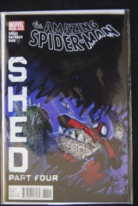 The Amazing Spider-Man 633, Shed part 4
